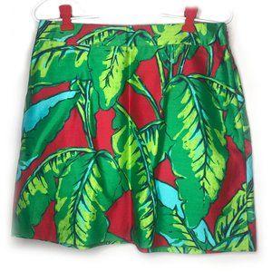 Vineyard Vines Banana Leaf Print Skirt